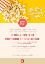 Click & Collect - Pop Corn et confiserie