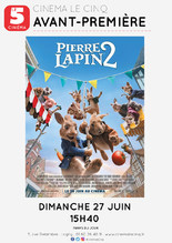 Avant-Première : Pierre Lapin 2
