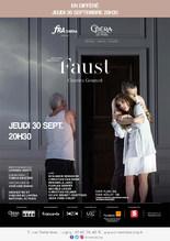 """Ciné-Opéra """"Faust"""" en différé de l'Opéra de Paris"""