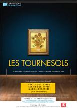 Exposition sur grand écran : Les Tournesols - Van Gogh