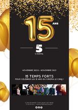 Le Cinq fête son 15e anniversaire
