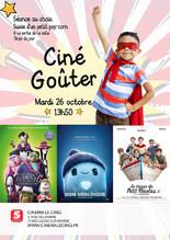 Ciné-Goûter : 3 films au choix