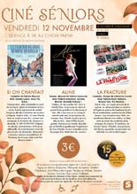 """Ciné-senior """"Villes"""" : 3 films au choix"""