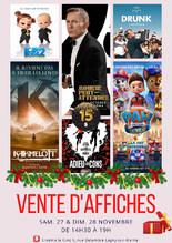 Vente d'affiches de Noël