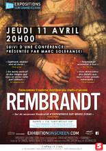 """Exposition sur grand écran """"Rembrandt"""""""