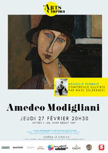 Les Arts au cinéma : Amedeo Modigliani