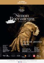 Ciné-opéra : Boccanegra en différé de l'Opéra de Paris