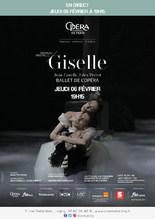 Ciné-ballet : Giselle en direct de l'Opéra de Paris