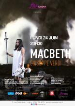 """Ciné-Opéra """"Macbeth"""" en différé"""
