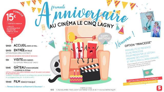 Anniversaires Au Cinéma Lagny Sur Marne Le Cinq
