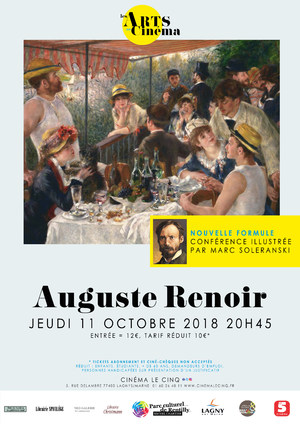 Renoir conférence Lagny
