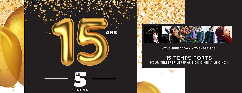 Le Cinq fête ses 15 ans